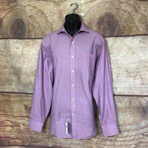 Tommy Hilfiger Mens Regular Dress Shirt Size 16